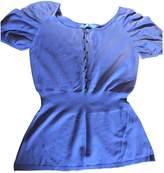 Maje Purple Cotton Top for Women
