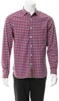 Billy Reid Gingham Button-Up Shirt