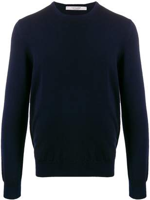 D'aniello La Fileria For fine knit long sleeve jumper