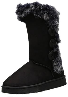Goodnight Macaroon 'Georgia' Faux Fur Boots (4 Colors)