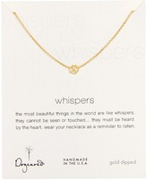Dogeared Jewels - Whisper Necklace Bloom 18 (Gold Dipped) - Jewelry