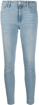 AllSaints High Rise Skinny Fit Jeans