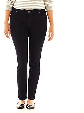 JCPenney a.n.a® Skinny Jeans - Plus