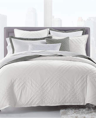 Hotel Collection Locked Geo King Comforter, Bedding