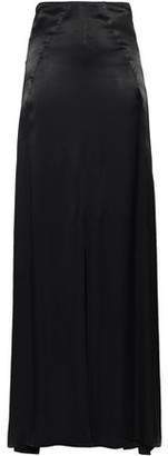 Les Héroïnes The Malala Split-front Satin Maxi Skirt
