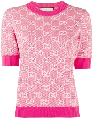 Gucci Piquet Knitted Top
