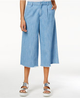 Rachel Roy Cotton Denim Culotte Pants, Only at Macy's