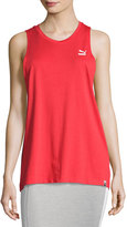 Puma Archive Logo Athletic Tank Top, Red