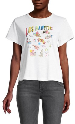 RE/DONE Hamptons Graphic T-Shirt