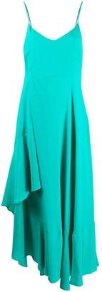 Twin-Set Asymmetric Slip Dress