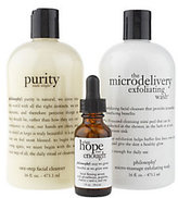 philosophy Skin Renewal Three Piece Collection