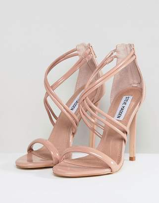 Steve Madden High Heeled Sandals-Beige