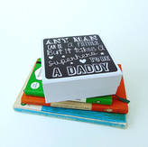 Little Bird Designs Father's Day Box With Optional Grater