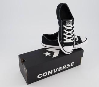 Converse Dainty Trainers Black White Black