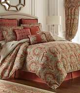 Rose Tree Harrogate Paisley Damask & Geometric Diamond Comforter Set