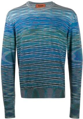 Missoni Marl-Knit Jersey Sweater