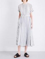 Theory Avika cotton and silk-blend dress