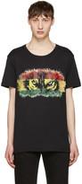 Balmain Black yeux De Loup T-shirt