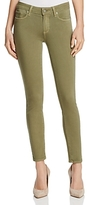 Paige Verdugo Ankle Skinny Jeans in Sahara Green