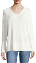 Lafayette 148 New York Women's V-Neck Sweater