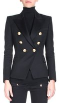 Balmain Classic Double-Breasted Blazer, Black