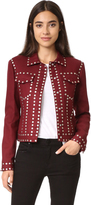 BCBGMAXAZRIA Patric Studded Jacket