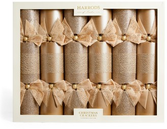 Harrods Luxury Traditional Christmas Crackers (Set of 6)