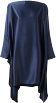 Gianluca Capannolo draped oversized dress - women - Polyester/Triacetate - 40