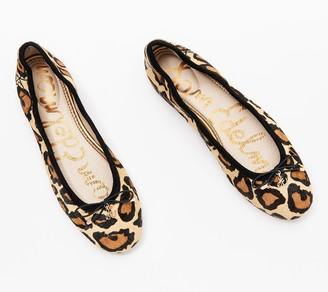 Sam Edelman Animal Print Ballet Flats - Felicia