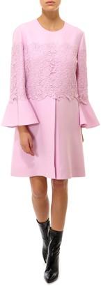 Valentino Lace Detail Dress