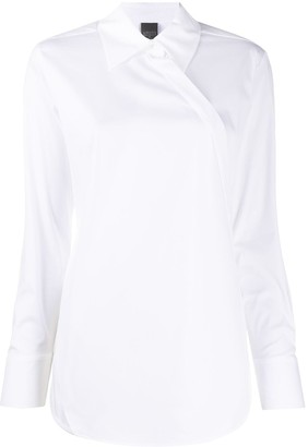 Lorena Antoniazzi Asymmetric Buttoned Shirt