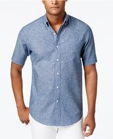 Club Room Men's Big and Tall Chambray Shirt, Only at Macy's