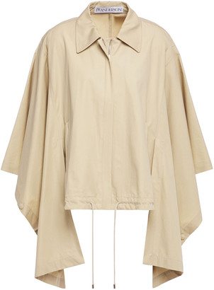 J.W.Anderson Draped Cotton-gabardine Jacket