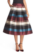 Ted Baker &Majida - Antique Stripe& Full Pleat Skirt