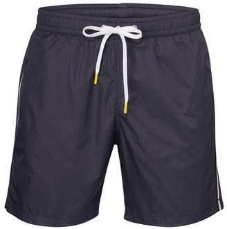 Hartford Swim shorts with stripe detail