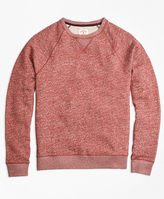 Brooks Brothers Terry Raglan Crewneck Sweatshirt