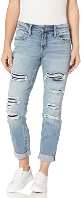 Silver Jeans Co. Women's Boyfriend Rise Slim Leg Jeans