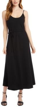 Karen Kane Sleeveless Scoop-Neck A-Line Dress
