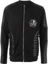 Philipp Plein 'Purple' bomber jacket - men - Cotton/Polyester/Polyurethane - S