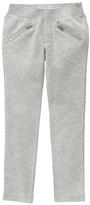 Gymboree Cozy Heather Gray Zip Pocket Pants - Girls
