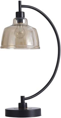 Stylecraft Style Craft Black Water Table Lamp