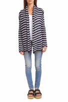 Wooden Ships Stripe Wrap Cardigan