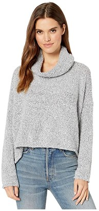 Free People BFF Sweater (Grey) Women's Clothing