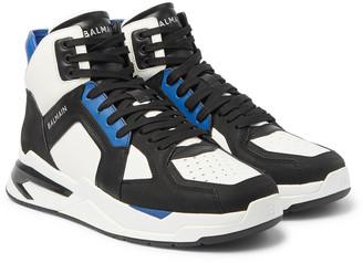 Balmain B-Ball Leather Sneakers
