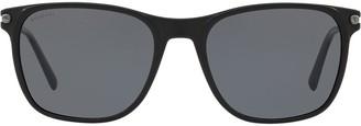 Bulgari square shaped sunglasses