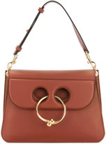 J.W.Anderson ring detail shoulder bag - women - Calf Leather - One Size