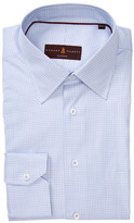Robert Talbott Classic Fit Windowpane Dress Shirt