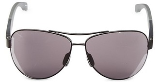 HUGO BOSS 65MM Neon Aviator Sunglasses