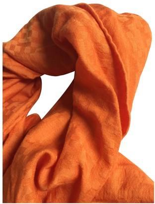 Hermã ̈S HermAs Orange Silk Scarves