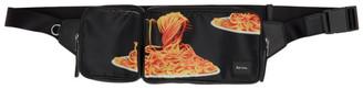 Paul Smith 50th Anniversary Black Spaghetti Waist Pouch